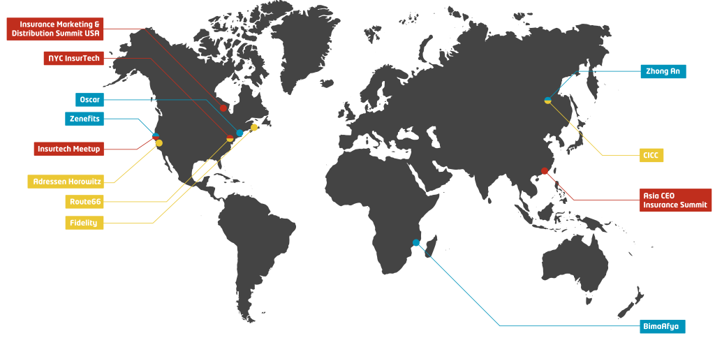 Insurtech World Map
